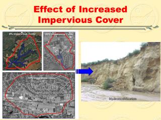 Effect of Increased Impervious Cover