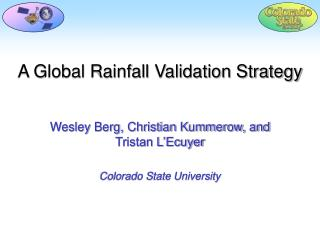 A Global Rainfall Validation Strategy