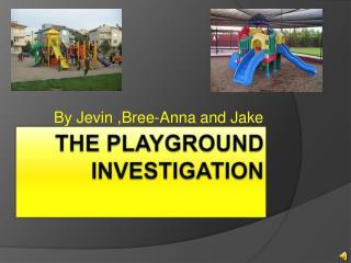 The Playground Investigation