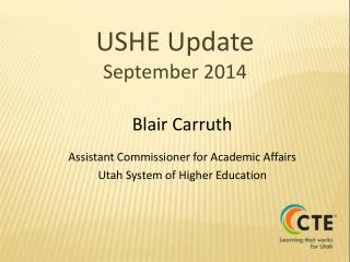 USHE Update September 2014