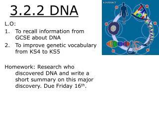 3.2.2 DNA