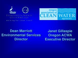 Dean Marriott Environmental Services Director