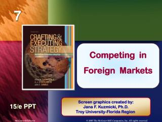 Competing  in  Foreign  Markets