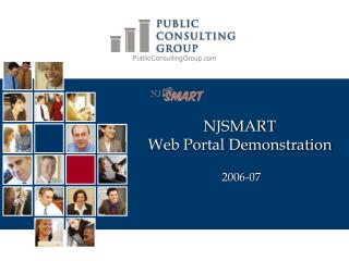 NJSMART Web Portal Demonstration  2006-07
