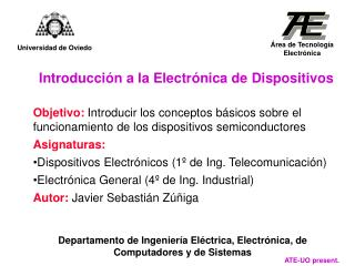 Introducción a la Electrónica de Dispositivos