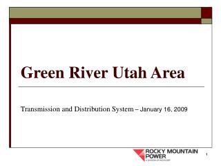 Green River Utah Area