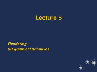 Lecture 5 Reading: Chapter 8 - beginning