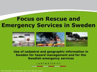 Focus on Rescue and Emergency Services in Sweden