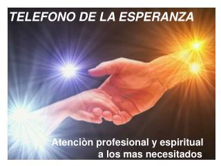 TELEFONO DE LA ESPERANZA  Una alternativa para la prevenciòn  del suicidio SANTIAGO DUARTE ALFONZO