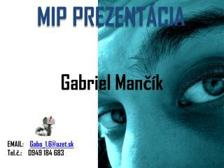 Gabriel Mančík