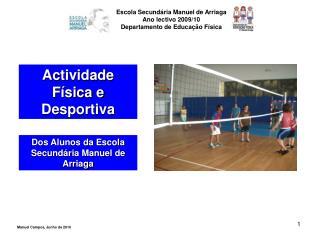 Actividade Física e Desportiva