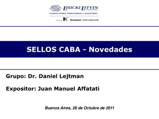 SELLOS CABA - Novedades