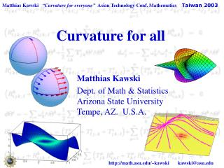 Curvature for all
