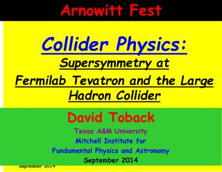 Collider Physics:  Supersymmetry at  Fermilab Tevatron and the Large Hadron Collider