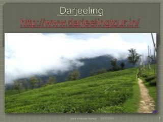 Darjeeling Holiday Package