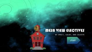 Mesa View Electives