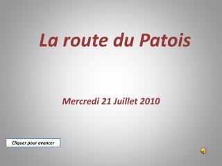 La route du Patois