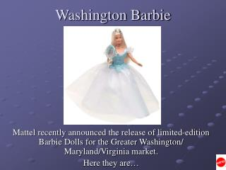 Washington Barbie