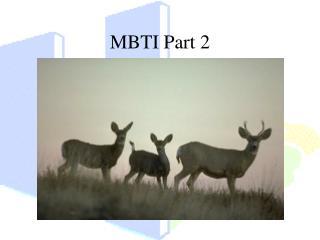 MBTI Part 2