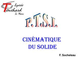 Cinématique  du solide