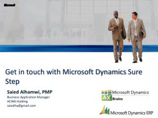 Get in touch with Microsoft Dynamics  Sure Step