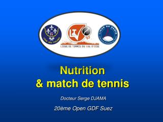 Nutrition & match de tennis