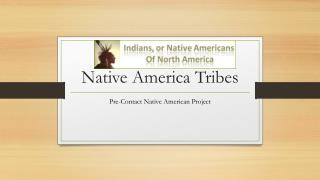 Native America Tribes