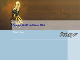 Réunion S NCF du 25 mai 2004