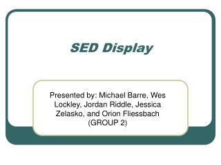 SED Display