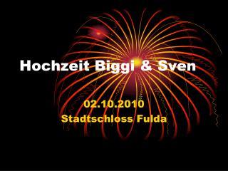 Hochzeit Biggi & Sven