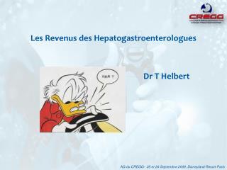 Les Revenus des Hepatogastroenterologues