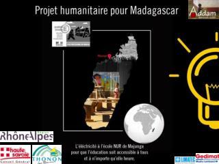 Projet Madagascar 2013