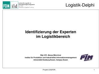 Logistik-Delphi