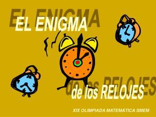 EL ENIGMA
