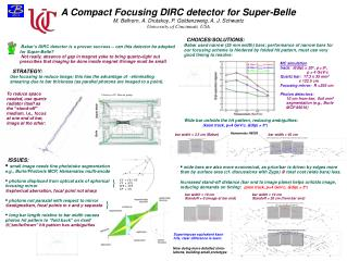 A Compact Focusing DIRC detector for Super-Belle