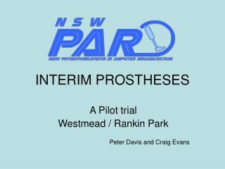 INTERIM PROSTHESES