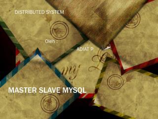 Master Slave  mysql