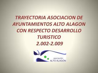 ACCIONES SOLICITADAS A INFRAESTRUCTURAS TURISTICAS 2.009