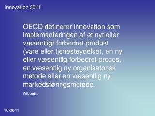 Innovation 2011