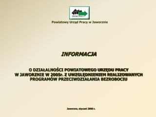 Powiatowy Urząd Pracy w Jaworznie