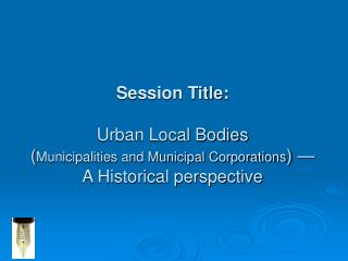 Session Overview: In this session we will discuss: