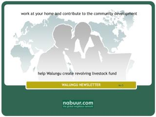 WALUNGU NEWSLETTER