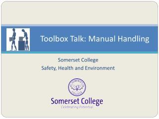 Toolbox Talk: Manual Handling