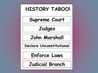 HISTORY TABOO!