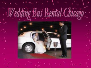 Wedding Bus Rental Chicago