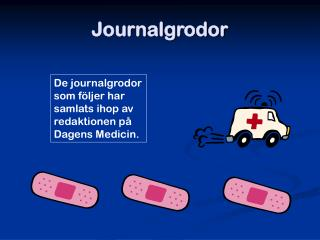 Journalgrodor
