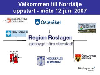 V�lkommen till Norrt�lje uppstart - m�te 12 juni 2007