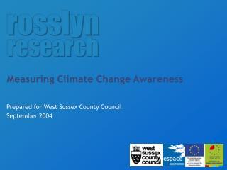 Measuring Climate Change Awareness