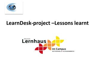 LearnDesk -project � Lessons learnt