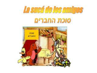 La sucá de los amigos סוכת החברים